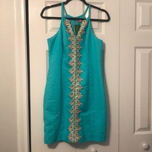 Seaside Aqua Brand New Never Worn Lilly Dress